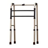 Andador 3 barras Fixo e Articulado Bronze Aolike S/rodízio